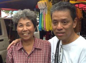 左起:樊秀莲、陈亚春